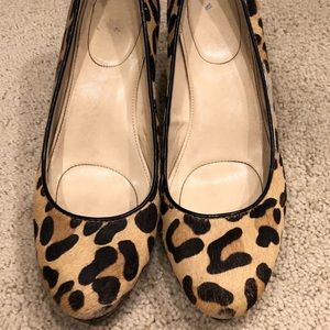 Lot of two heels - Leopard and nude